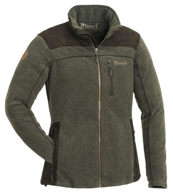 3067-702-fleece-jacket-diana-exclusive-ladies---olive-mel-suede-brown