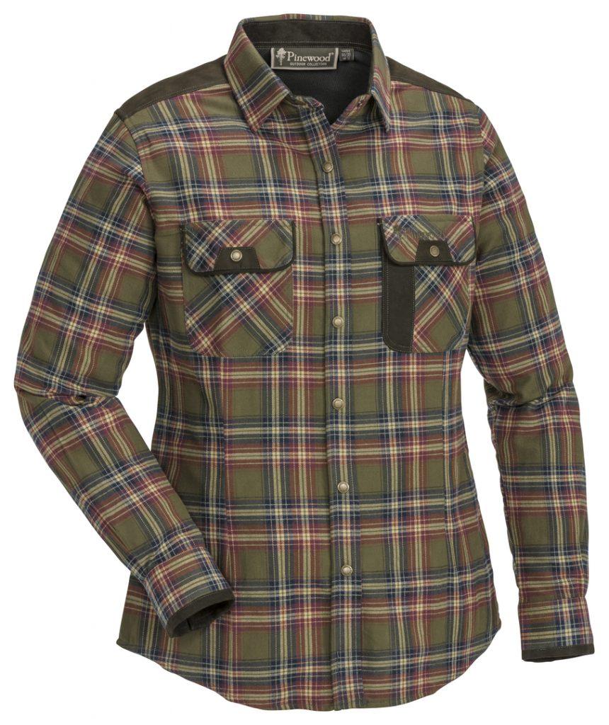 flanel dames blouse