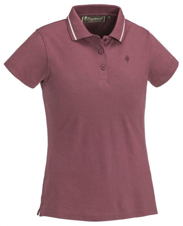 3318-568-1_pinewood-womens-polo-shirt-outdoor-life_dark-rose
